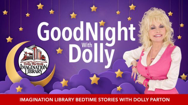Dolly Parton reading bedtime stories to kids in new video series