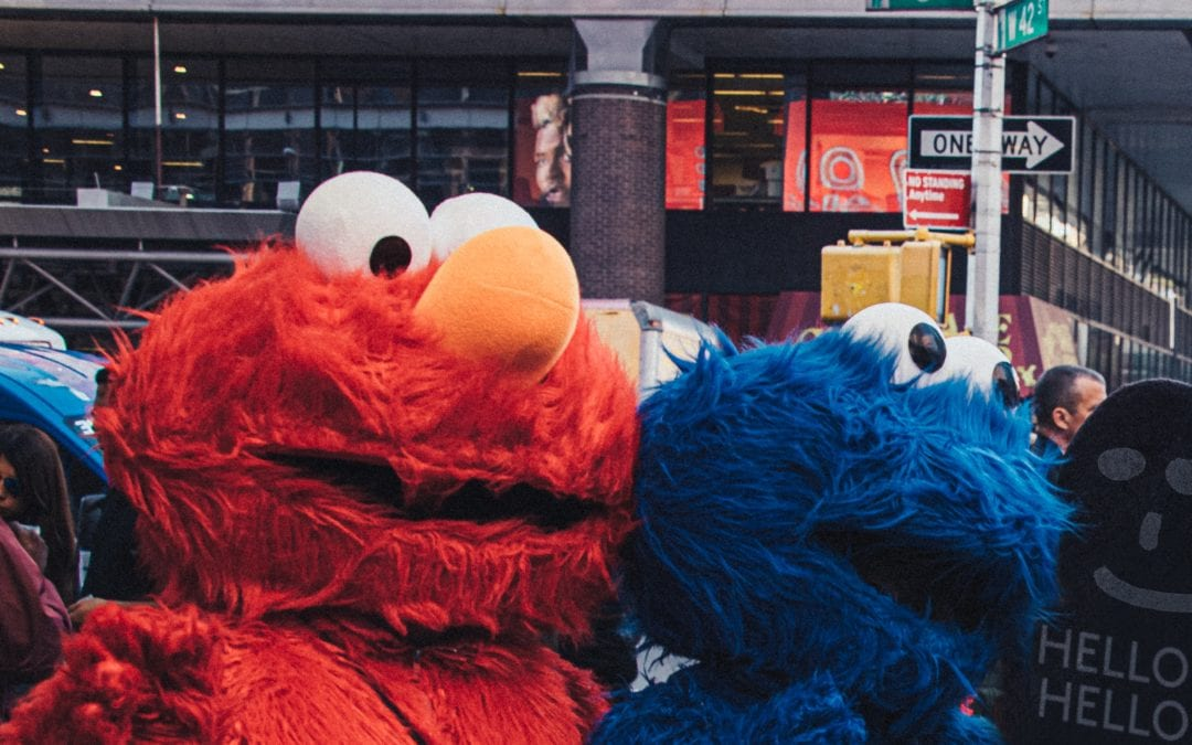 'Sesame Street' raises the fun quotient online for kids at home