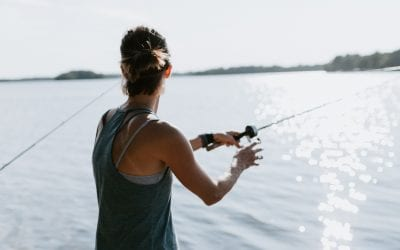 Fishing is the ultimate social distancing activity