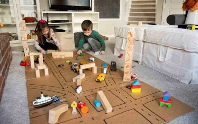 Keeping Your Kids Happy, Busy and Learning At Home