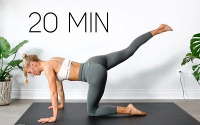 20 MIN FULL BODY WORKOUT | At Home & Equipment Free