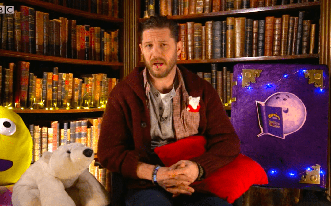Tom Hardy returns with bedtime stories in our hour of need