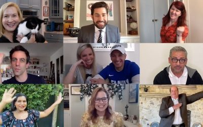 The Office Cast Reunites for Zoom Wedding: Some Good News with John Krasinski Ep. 7